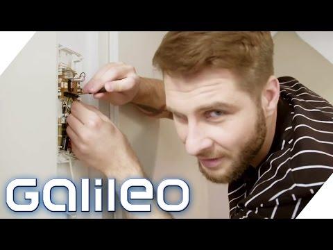 Wie sicher ist der digitaler Hausschlüssel? | Galileo | ProSieben