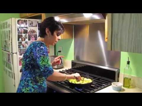 Tofu Scramble – Vegan Cooking Classes – Linda Luca