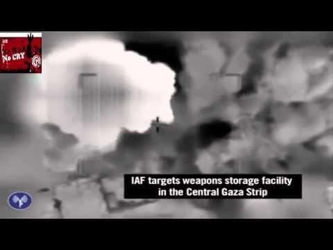 Footage of IDF Strikes on Gazan Terror Sites avi