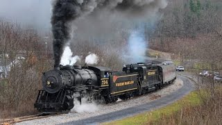 Western Maryland Scenic 734: Going Out in Style!