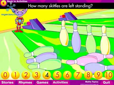 Galaxy Kids Maths Ten Skittles