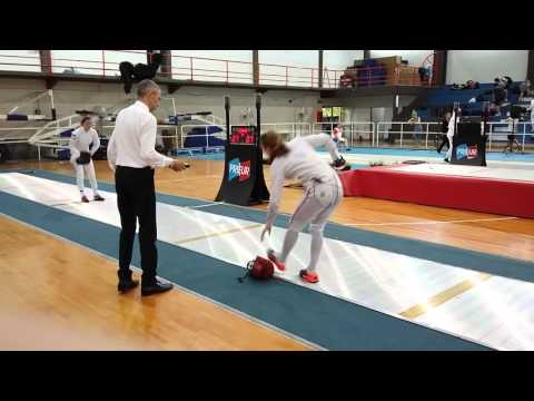 Buenos Aires WC 2016 (L32) Andrushina RUS 15 Vs Cohen GBR 7