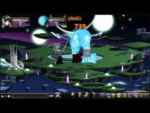 =aqw= darkblood stormking class test PVP and solo skill Passive rank 10