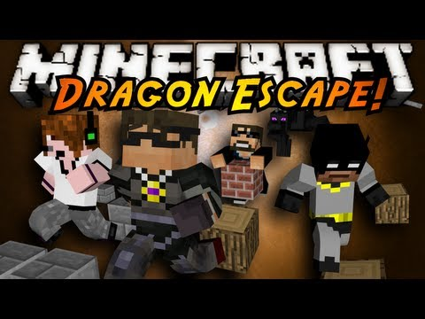 Minecraft Mini-Game : DRAGON ESCAPE!