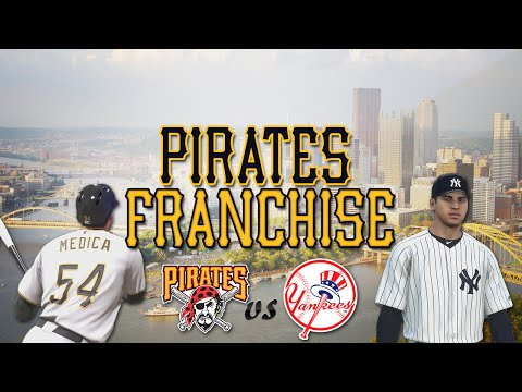 MLB 14 The Show Broadcast: Pittsburgh Pirates Franchise at Yankees [Ep. 32] - BATS ARE ALIVE!