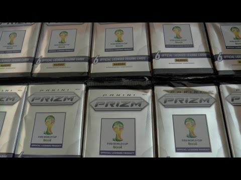 10 PACKS!!! ☆ PANINI PRIZM 2014 OFFICIAL FIFA WORLD CUP SOCCER trading cards ☆ OPENING