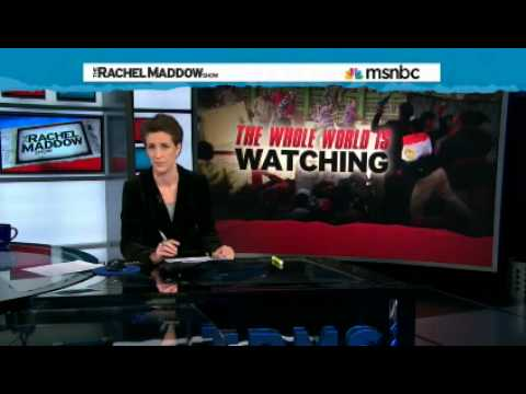 Egypt protests - Journalists being stopped by any means necessary - Why? Rachel Maddow has an answer