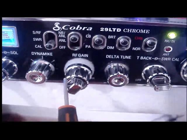 Cobra 29 chrome MODIFICACION ECHO+FRECC+RFX-75