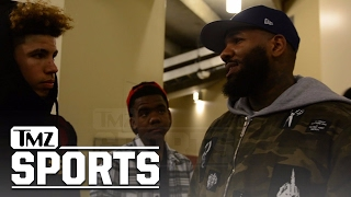 LAMELO BALL PEP TALK FROM THE GAME... After Playoff Loss | TMZ Sports