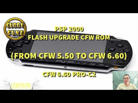 PSP 2000: Upgrade CFW 5.50 to CFW 6.60 PRO-C2