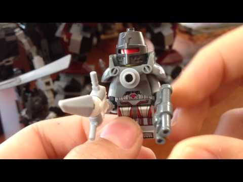Lego Warhammer 40k Custom Minifigures and Imperial Knight Review (обзор)