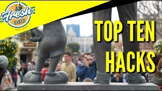 Top 10 Disneyland Hacks | Fresh Baked Top 10