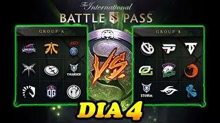 🔴 THE INTERNATIONAL DIA 4 (18 de agosto) COMPLETO 😱 | Dota 2