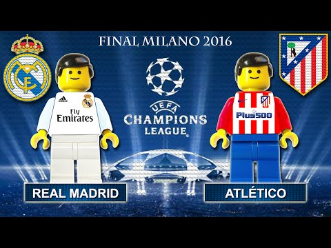 Champions League Final 2016 ( Real Madrid vs Atletico Madrid ) Film in Lego Football Highlights