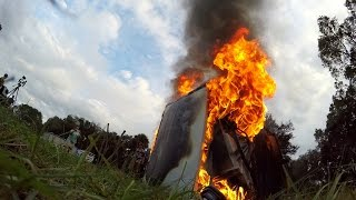 GoPro: Thermite and a Washing Machine With the Backyard Scientist