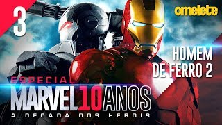 MARVEL NA TERAPIA: HOMEM DE FERRO 2   Marvel 10 Anos #3