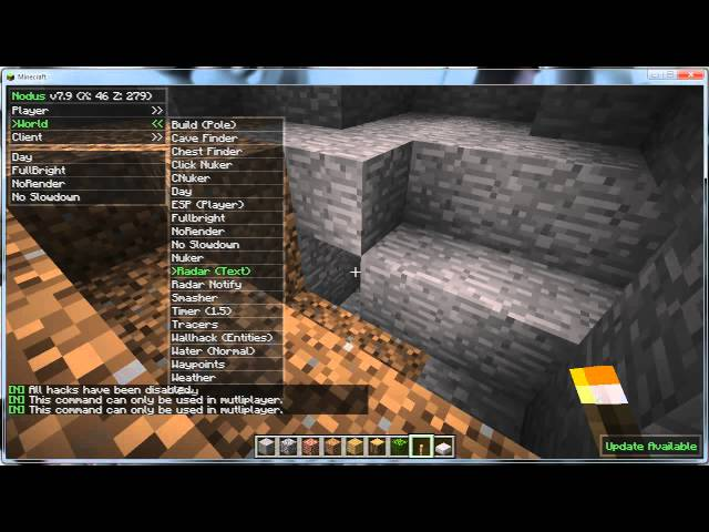 ☣Minecraft Hack 1.2.5! + Download