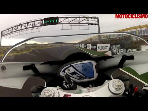 MV Agusta F4 2013 il test di Motociclismo