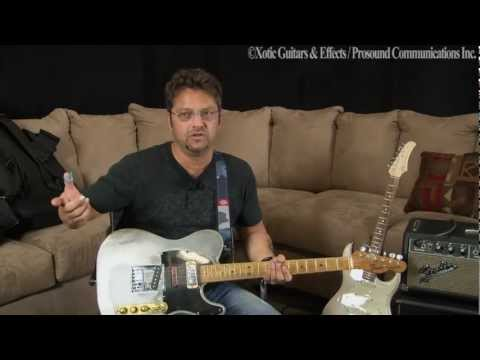 Brent Mason with Telecaster&Xotic Guitar XS 1