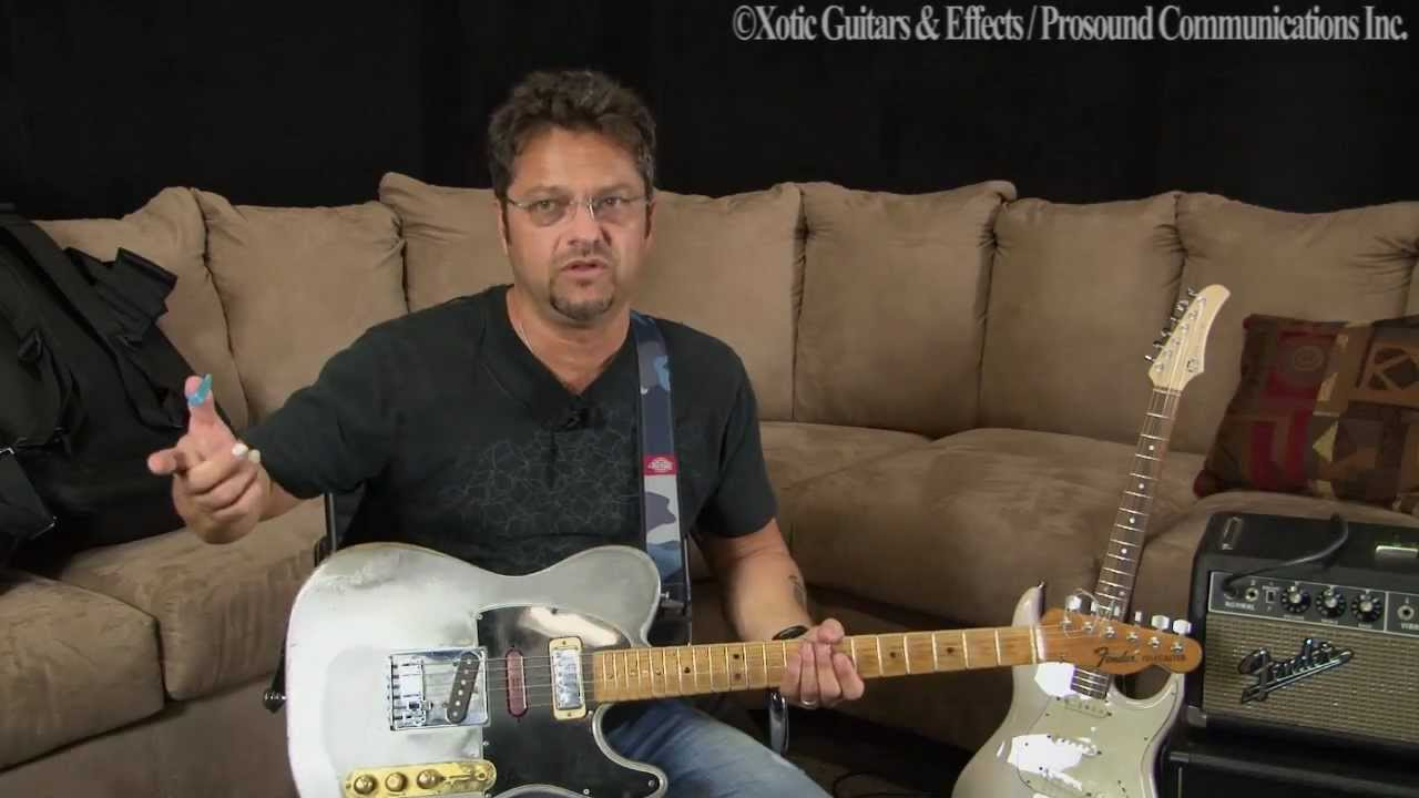 Brent Mason With Telecaster  U0026 Xotic Guitar Xs 1