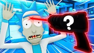 KILLING RICK SANCHEZ WITH A SECRET WEAPON (Funny Rick and Morty: Virtual Rick-ality Gameplay)