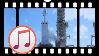 SpaceX Falcon Heavy launch【WITH APOLLO 13 MUSIC】