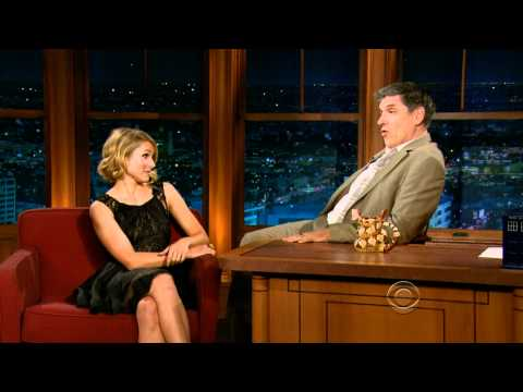 Kristen Bell on the Late Late Show with Craig Ferguson : April 14, 2011