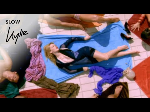 Girl Dubstep on Music Video By Kylie Minogue Performing Slow