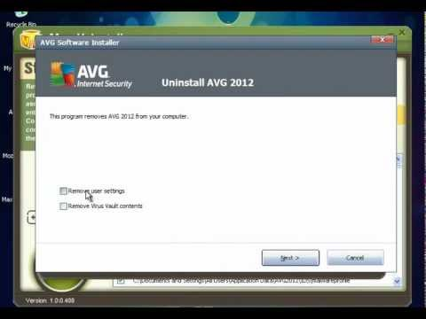 How to Uninstall/Remove AVG Internet Security 2012 by Max Uninstaller