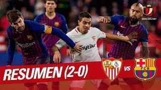 Resumen de Sevilla FC vs FC Barcelona (2-0)