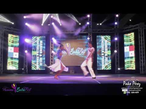 Marino y Julie de VENEZUELA Y PANAMA en Panama SalsaFest 2017 #1
