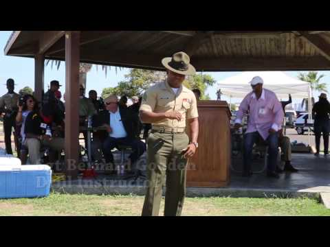 Drill Instructor Cadence Calling Contest