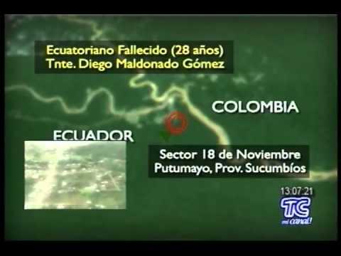 Militar ecuatoriano falleció en enfrentamiento con guerrilla colombiana