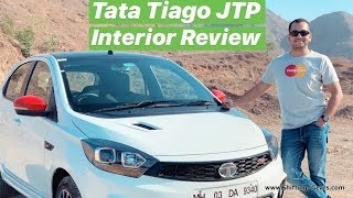 Tata Tiago JTP Interiors Review (Hot Hatchback) - Hindi + English