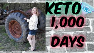 1000 Days KETO, Weigh In,  Meals, Daily Vlog