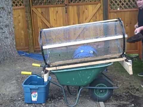 Compost Tumbler/ aka Trommel/Sifter/Sieve