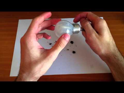 Manualidades: cómo hacer jardín dentro de una bombilla - manualidades para rec