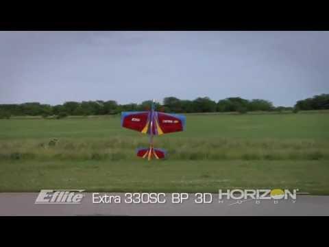 Extra 330sc Bp 3d Arf By E-flite video