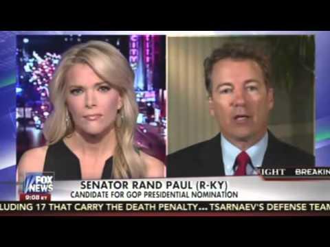 Megyn Kelly Hammers Rand Paul on Combative Interviews