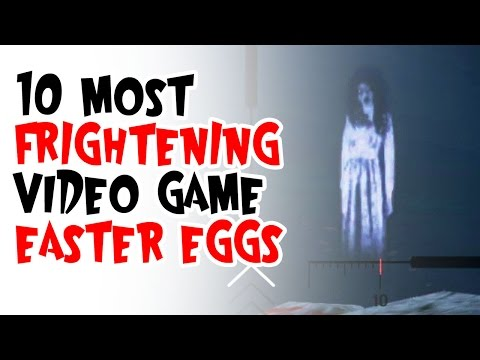 10 most FRIGHTENING video game Easter Eggs