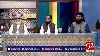 Subh e Noor Full Program - 12 August 2017 - 92NewsHDPlus