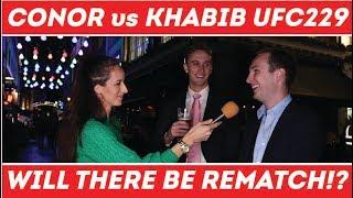 🥊Conor McGregor vs Khabib Nurmagomedov   UFC 229   💥 Rematch ❓❗️❓   London Street Interviews
