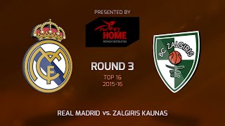 Реал Мадрид : Жальгирис