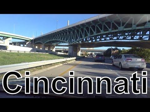 США дорожные рассказки центр города Цинциннати