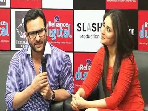 Saif Ali Khan - Kareena Kapoor Promote 'Agent Vinod'