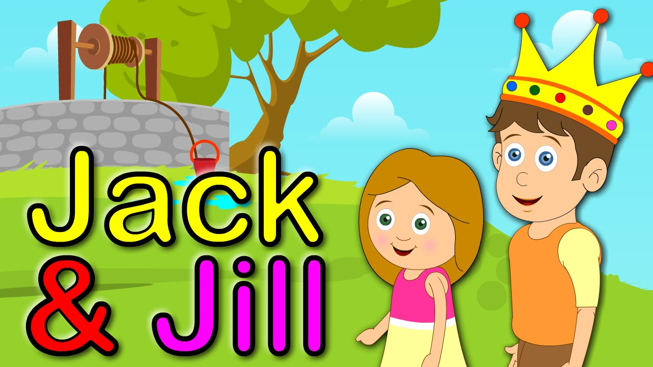 jack and jill nursery rhyme animation song youtube. Black Bedroom Furniture Sets. Home Design Ideas