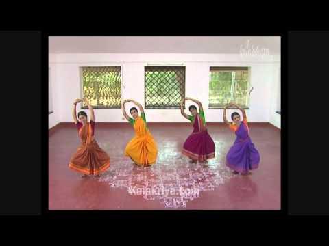 Bharatanatyam Kalakshetra Bani Vol  3   Varnam & Keerthanam video