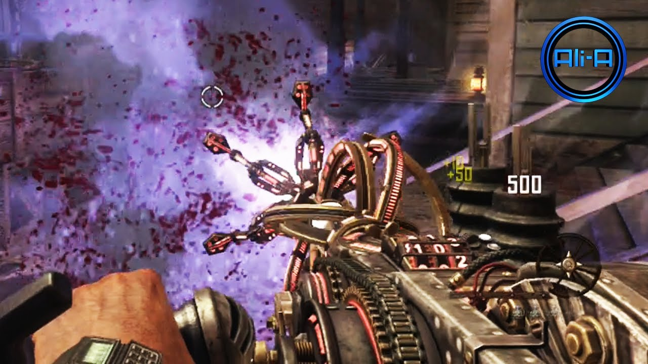 Buried Gameplay Black Ops 2 Zombies Vengeance Map