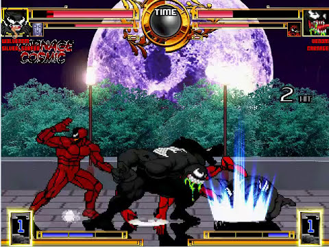 Wolvenom and Carnage Cosmic vs. Venom and Carnage: Grudge match