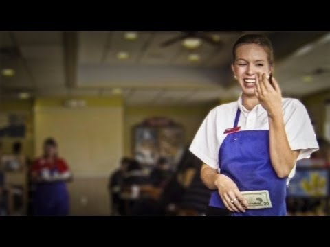 Tipping a Waitress $200  | Give Back Films